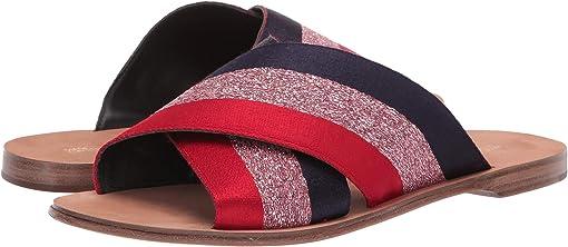 Red Multi Metallic Ribbon