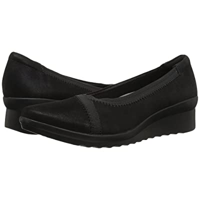 Clarks Caddell Dash (Black Synthetic) Women