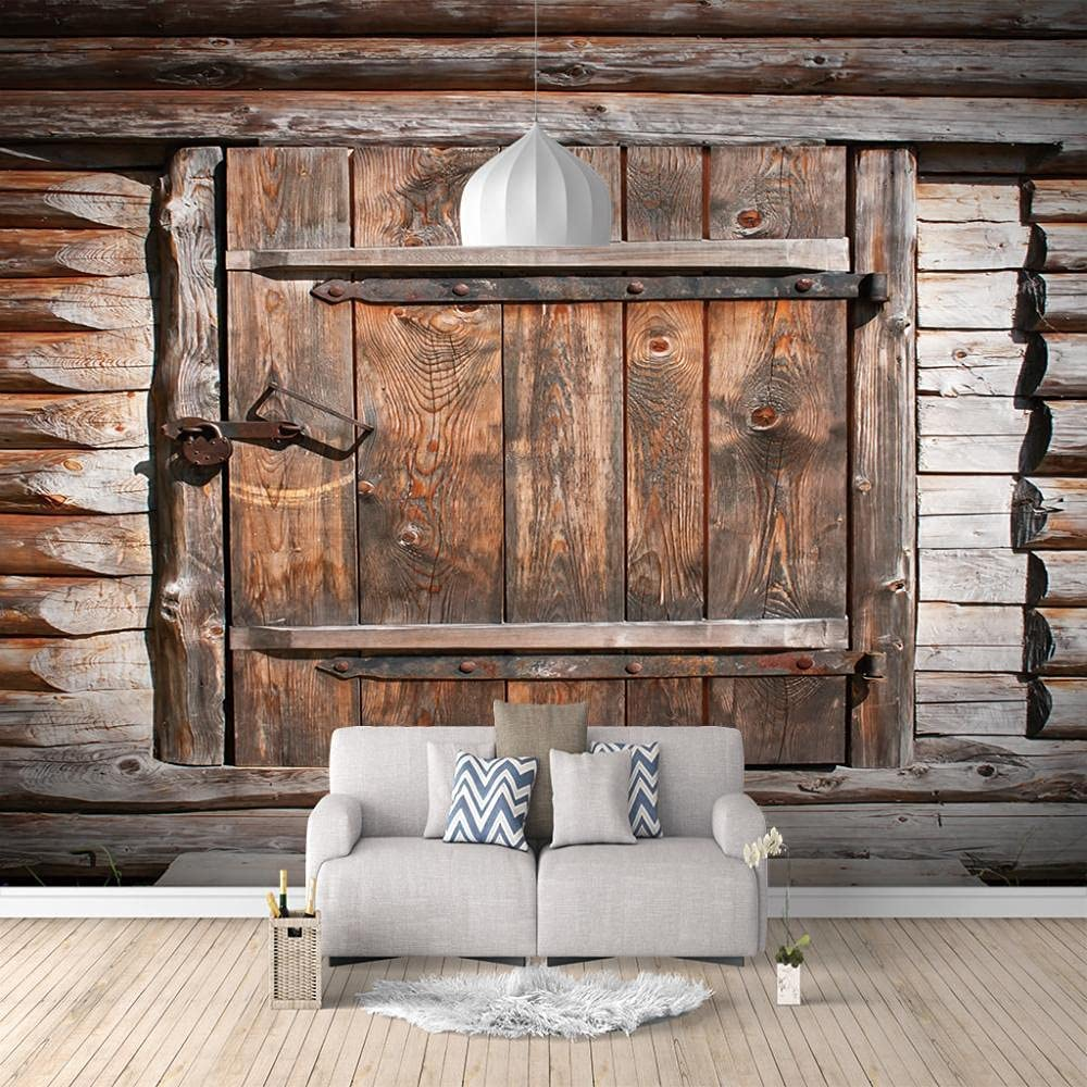 Luxury goods ZXDHNS Photo Wallpaper Wall Mural Attention brand - Vintage X Cabin 7 98.4 W H