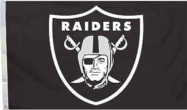 شعار NFL 3 x 5 أقدام فقط علم مع حلقات معدنية