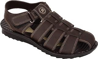 BATA Men Brown Classy Sandal Floaters