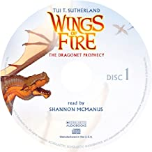 Wings of Fire Book One: The Dragonet Prophecy - Audio