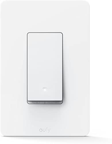 new arrival eufy by Anker, Smart Switch, Amazon Alexa, and The Google Assistant Compatible, online Wi-Fi, Control from Everywhere, No Hub Required, popular Single Pole, Requires Neutral Wire, 100~120V AC, 15A outlet sale