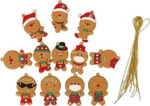 Generic 12pcs Clássico Divertido árvore de Natal Pendurado Ornamento Casa de Férias Decorações