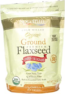 Essential Flaxseed (Organic) Spectrum Essentials 14 oz Ground
