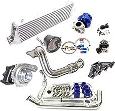 11 PCS D15/D16 Manifold 0.63 T3/T4 Flange Turbocharger+ Intercooler Turbo Kits