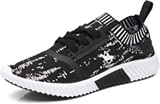 Mens Fashion Sneakers Basic Leather Casual Walking Shoes Sports Running Shoes Lightweight Athletic Training Shoes for Men