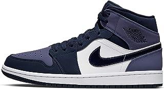 Jordan Nike Uomini Air 1 MID Obsidian Sanded Viola 554724-445