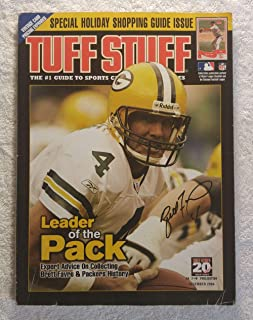 Expert advice on collecting Brett Favre & Green Bay Packers History - Tuff Stuff Magazine - December 2004