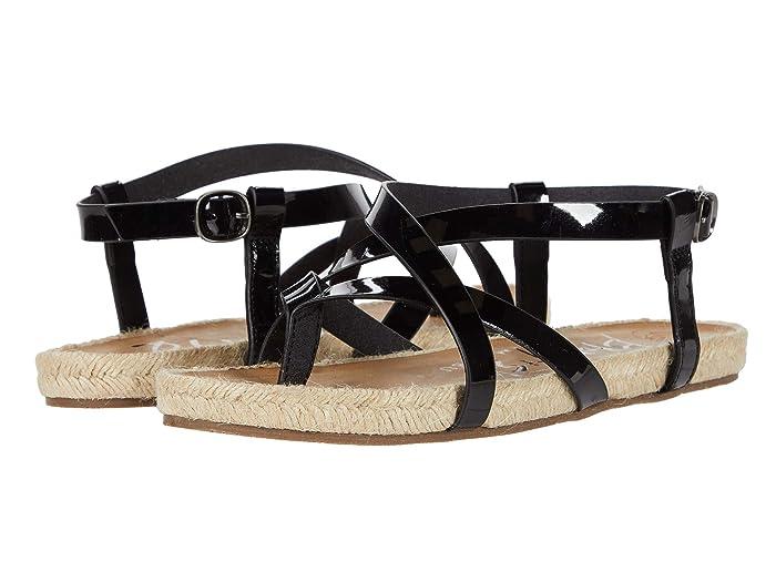Blowfish  Granola Rope (Black Patent Milano) Womens Sandals