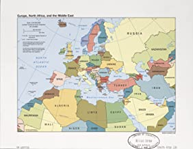 Best europe middle east map Reviews