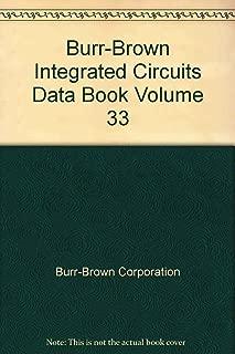 Burr-Brown Integrated Circuits Data Book Volume 33