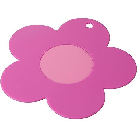 シービージャパン 鍋敷き ピンク シリコン製 マルチシート フラワー fleur