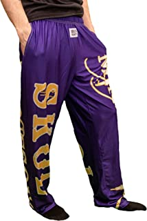 BRIEF INSANITY Minnesota Skol Lounge Pants   Comfortable Pajama PJ Bottoms for Men and Women