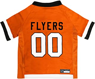 NHL Philadelphia Flyers Jersey for Dogs & Cats, Small. - Let Your Pet Be A Real NHL Fan!