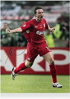 "Vladimir Smicer Liverpool FC Autographed 16"" x 12"" 2005 UEFA Champions League Winner Photograph - ICONS - Fanatics Authentic Certified"
