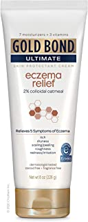 Gold Bond Ultimate Eczema Relief Skin Protectant Cream, 8 Ounce