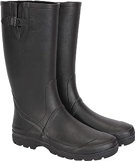 Mountain Warehouse Bottes en Caoutchouc pour Hommes - Hauteur de 40cm, Chaussures 100% Caoutchouc, Chaussures durables de ...