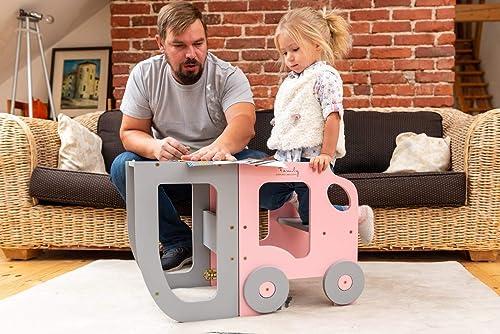 WERBUNG – Der Toddler in Family Lernturm ist sehr wandelbar