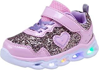 Kedtinal Kids Led Shoes Casual Flashing Girls Sneakers