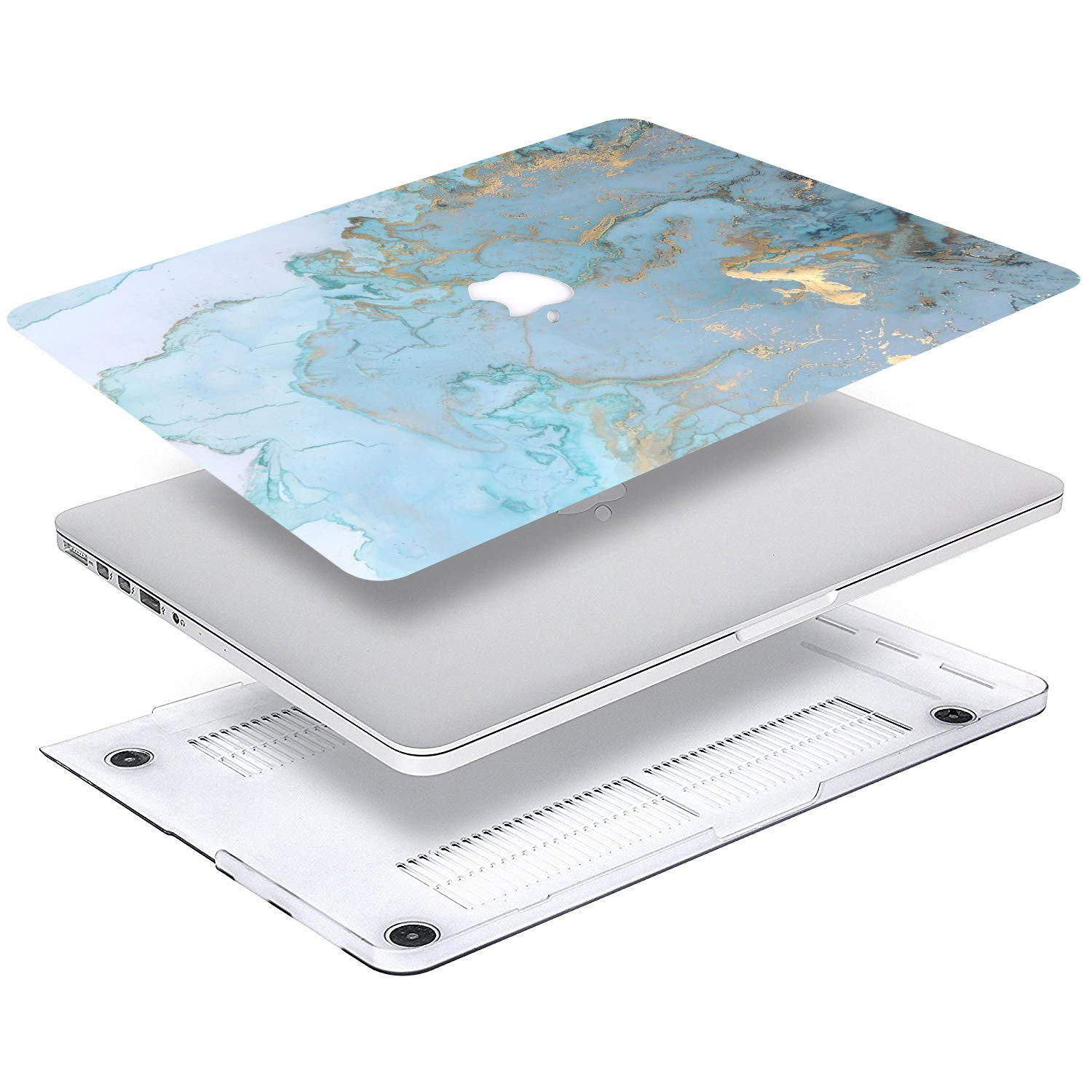 NO CD-ROM,Retina A1502//A1425 Plastic Case Keyboard Cover /& Screen Protector /& Keyboard Cleani MacBook Pro Case Cake Icon Cake Sign On MacBook Pro 13