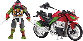 Teenage Mutant Ninja Turtles Movie 2 Out Of The Shadows Raphael With Motorcycle Vehicle With Figure