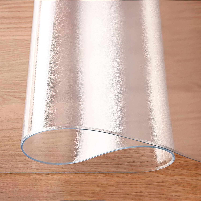 CL-ZZZ Ronda de Cubierta Impermeable Tabla 2 mm de Espesor Claro Esmerilado Mantel Mantel de Vinilo Equipada elástico afiló turística plástico Mat/mesas Circulares Presidente Protector Impermeable