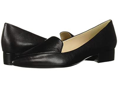 Cole Haan Dellora Skimmer (Black Leather 2) Women