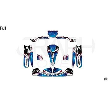 Kit Deco Karting KG FP7 STILO Evo Nurburgring Blu