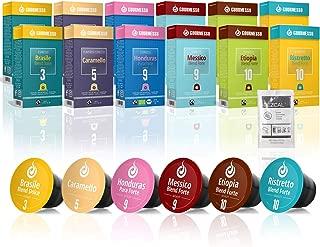 120 Fairtrade Coffee Capsules Compatible with Nespresso Original Line - 100% Fair Trade | Variety Pack Espresso and Lungo INCLUDES FREE Dezcal Descaling Solution | Gourmesso Select Bundle