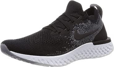 Nike Women's Epic React Flyknit Running Shoes (6.5, Black)