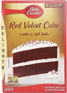 Betty Crocker Red Velvet Cake Mix, 395 gm