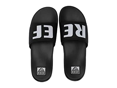 Reef One Slide (Black/White) Men