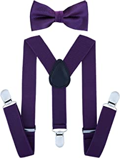 toddler purple bow tie