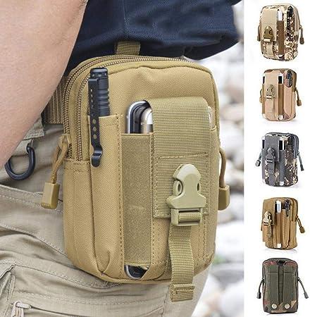 Kloius - Riñonera para exteriores con múltiples bolsillos para ...