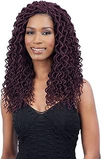 FreeTress 2X Soft Curly Lite Faux Loc Crochet Synthetic Braiding Hair (12