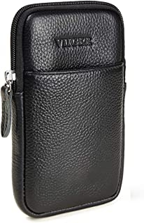 leather cell phone pouch with belt clip