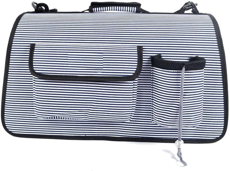 Dixinla Pet Carrier Backpack Four breathable mesh backpack out of pocket bag