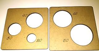 Plantillas para termoformar cabezas de fofuchas para bolas de 20-30-40-45