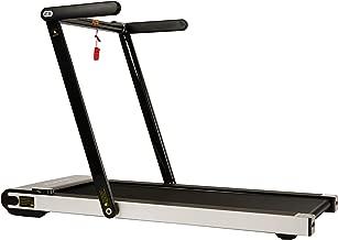 Sunny Health & Fitness Asuna Space Saving Treadmill, Motorized with Low Profile, Speakers & Slim Folding - 8730