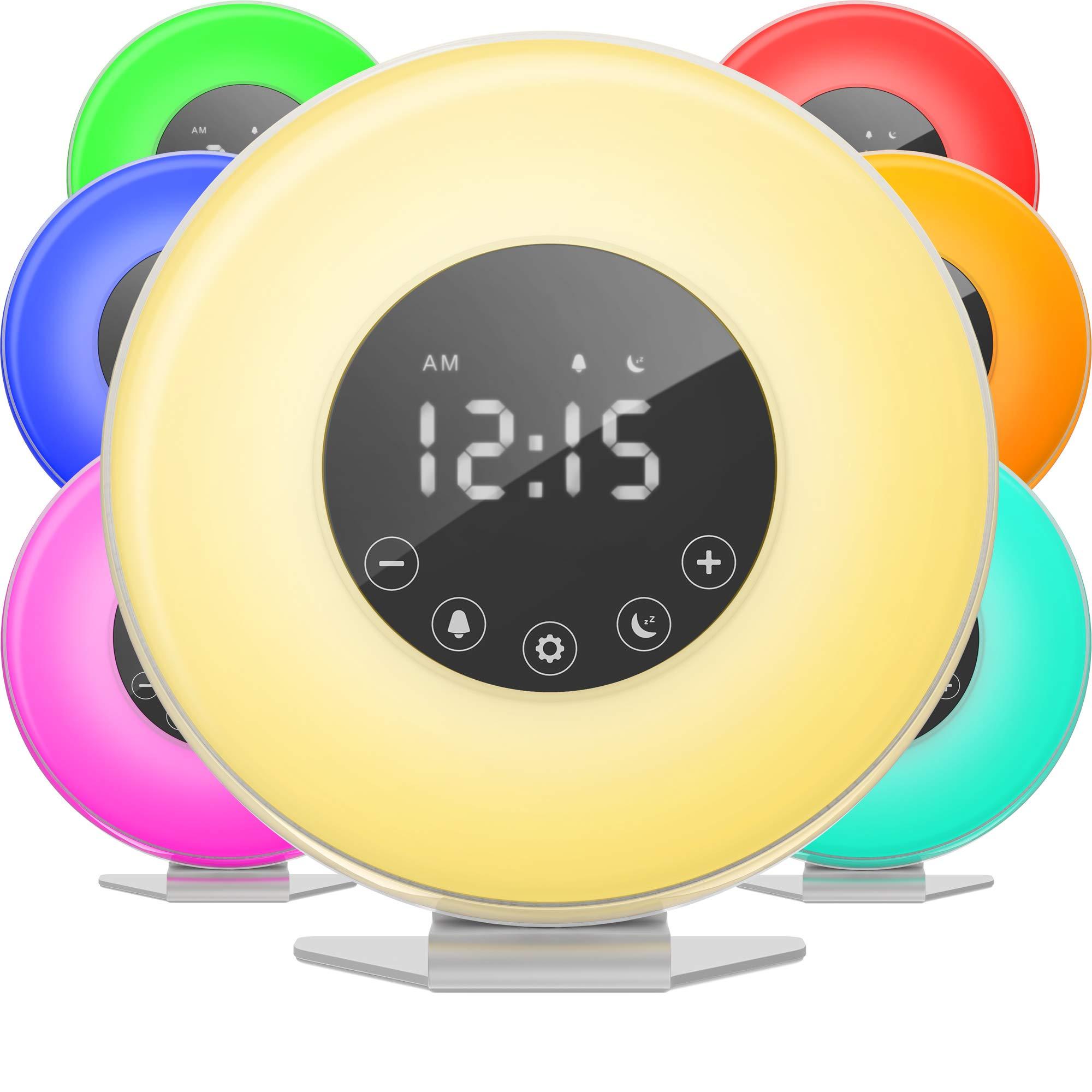 hOmeLabs Sunrise Alarm Clock Simulation