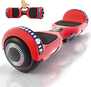yayGear Hoverboard Self Balancing Scooter UL 2272 Certified with Powerful Bluetooth Speaker, Cool LED Lights and Easy Carrying Handle