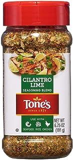 Tone's Cilantro Lime Seasoning 6.75 oz. A1