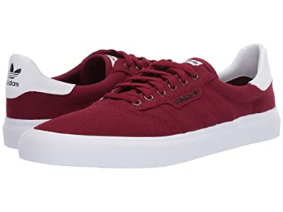 adidas Skateboarding 3MC (Collegiate Burgundy/Collegiate Burgundy/Footwear White) Men