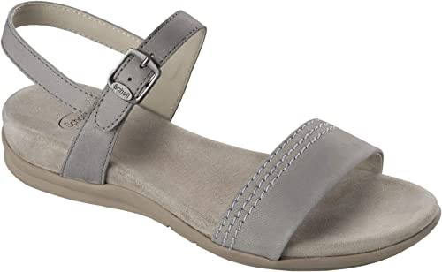 Scholl zapatos mujer Sandali Syrma In Pelle gris F26640-1070