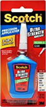 Scotch Brand 051141958798 Scotch Super Glue Liquid, Precision Applicator, 0.14-Ounce, Clear (MMMADH670),