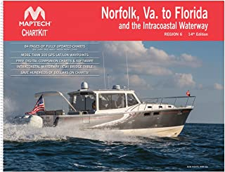 Norfolk, VA, to Florida and the Intracoastal Waterway ChartKit Region 6 14th Edition