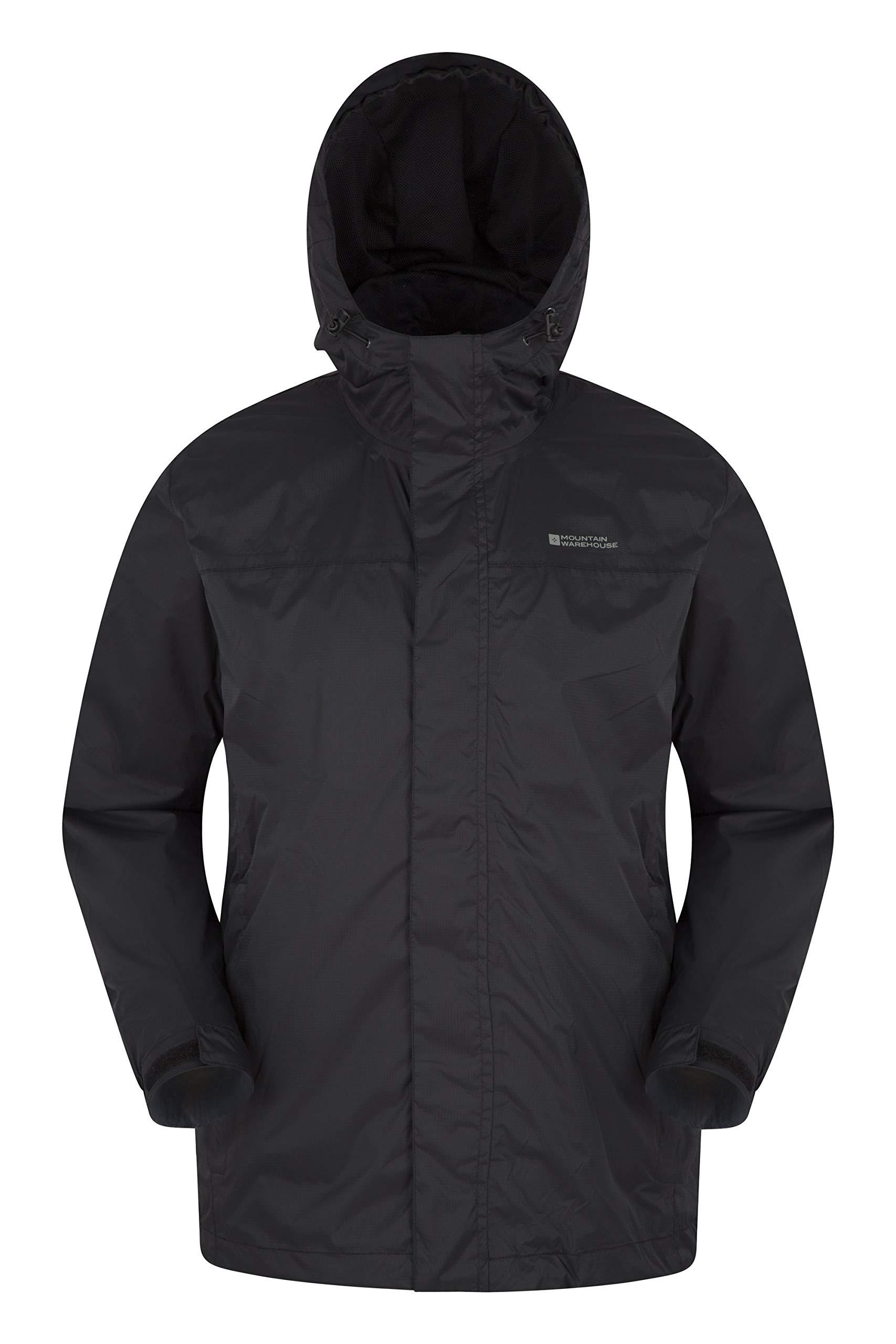 Taped Seams Mountain Warehouse 3 In 1 Mens Waterproof Rain Jacket