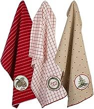 DII, 100% Cotton Holiday Dishtowels, Decorative, Oversized, 18x28
