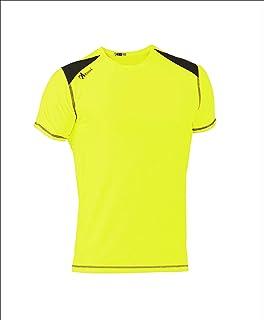 ASIOKA, 182/17 Camiseta técnica combinada Unisex para Adultos de m/Corta
